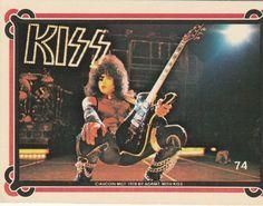KISS TRADING CARD #74