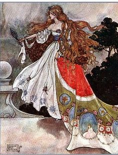 A Princeza Flor (The Flower Princess) - The Black Princess and Other Fairy Tales from Brazil translated by Christie T Young, 1916