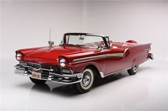 1957 FORD SKYLINER F-CODE RETRACTABLE HARDTOP