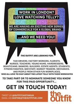 PAID C4 ADVERT! EMAIL US FOR MORE INFO!  #RT #CASTING #MANWITHVAN #TVADVERT #BUILDERS #PLUMBERS #ELECTRICIAN