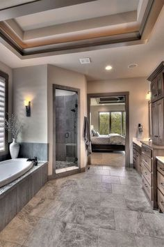 Modern home design Home Interior Design, New Homes, House Interior, House Rooms, Home Remodeling, Modern House Design, Home, Dream Bathrooms, Bathroom Remodel Master
