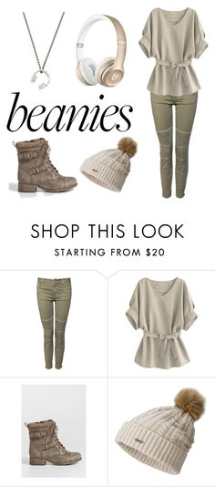 """Beanies"" by niallslaughiscute ❤ liked on Polyvore featuring Devoted, maurices, SOREL and Manuel Bozzi"
