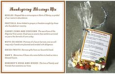Small Party Favors for Thanksgiving Dinner? — Good Questions