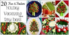 Holiday Vegetable Trays are festive, easy to make, healthy & delicious! Add fun … Holiday Vegetable Trays are festive, easy to make, healthy & delicious! Add fun to your Christmas table with one of these great vegetable/ fruit tray ideas. Christmas Tree Veggie Tray, Christmas Party Food, Xmas Food, Christmas Ideas, Christmas Foods, Holiday Foods, Holiday Ideas, Merry Christmas, Christmas Gifts