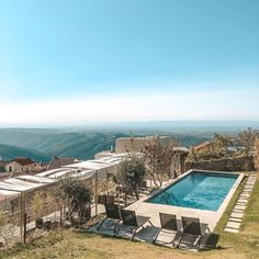 """Gefällt 227 Mal, 0 Kommentare - Best Portugal Hotels (@bestportugalhotels_) auf Instagram: """"Who: @casasdalapa • What: Charm House • Where: Guarda, Portugal • How: from 140€/night 📸…"""" Hotels Portugal, Night, Outdoor Decor, House, Instagram, Home Decor, Decoration Home, Home, Room Decor"""