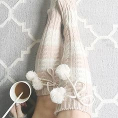 How cute are these little Pom socks?!? They are so cozy - it's like a sweater on my feet!! Plus they are under $20 along with my pjs!! Today, I'm sharing my picks from @jcpenney all under $50!  Head to the blog for these deals because I know you still have a little bit of holiday shopping to do :wink::christmas_tree:#ad @liketoknow.it http://liketk.it/2pRlR #liketkit #joyworthgiving