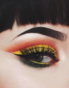 Eye makeup idea by foxfell