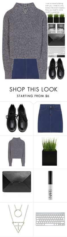 """""""never apologize for how you're feeling."""" by alienbabs ❤ liked on Polyvore featuring Acne Studios, J.W. Anderson, NARS Cosmetics, women's clothing, women's fashion, women, female, woman, misses and juniors"""