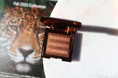 Chantecaille Luminescent Eye Shade Leopard Review Swatch