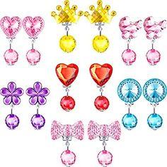 Paper Flowers Craft, Flower Crafts, Girls Earrings, Clip On Earrings, Frozen Birthday Dress, Makeup Kit For Kids, Kawaii Wigs, American Girl Doll Bed, Hasbro My Little Pony