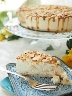 Gluten Free Baking, Vegan Baking, Gluten Free Cakes, Sweet Desserts, No Bake Desserts, Vegan Desserts, Finnish Recipes, Sweet Pastries, Sweet Pie