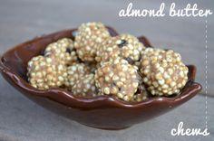 almond butter chews