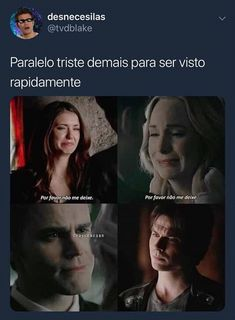 Ai meu coração The Mikaelsons, Vampire Daries, Hello Brother, Mystic Falls, Damon Salvatore, Vampire Diaries The Originals, Delena, Best Couple, Greys Anatomy