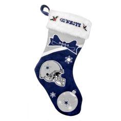 Dallas Cowboys Christmas Stocking | Dallas Cowboys Fashion, Style ...