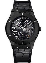 Hublot Classic Fusion Classico Men's Ultra-Thin All Black Manual Watch – 515.CM.0140.LR