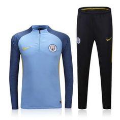 816c55273 Chándal Manchester City 2016-2017 Marino - Camisetas de Futbol Baratas