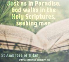 Holy Scripture-Ambrose
