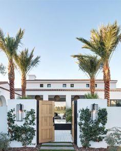 Spanish style homes – Mediterranean Home Decor Spanish Style Homes, Spanish House, Spanish Revival, Entrance Design, House Entrance, Garden Entrance, Door Design, Entrance Ideas, Future House