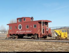 RailPictures.Net Photo: NP 1127 Northern Pacific Railway Caboose at Columbus, Montana by mtrails