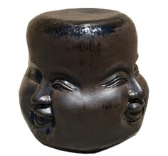 outdoor or indoor four face stool from Asian Art imports