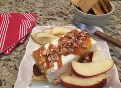 Mystery Lovers' Kitchen: Yummy, Easy Cheese and Caramel appetizer! #recipe from @AveryAames