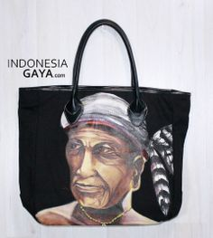 Hand Painted of Tote Bag