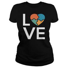 Show your Autism Love shirt - Wear it Proud, Wear it Loud!