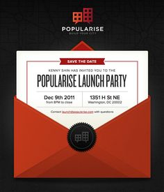 Invitation - Gift 33 simple but effective email newsletter designs | Web design | Creative Bloq