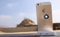 The iPhone 5S will not stop a bullet!