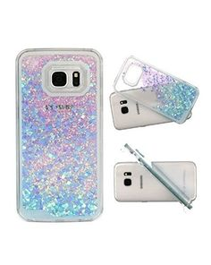 a31723f429f Amazon.com Coupon, 80% off ($2.00) Samsung Galaxy 7 Phone Water Filled Case  Glitter Quicksand Stars (Blue/Purple Glitter Hearts)