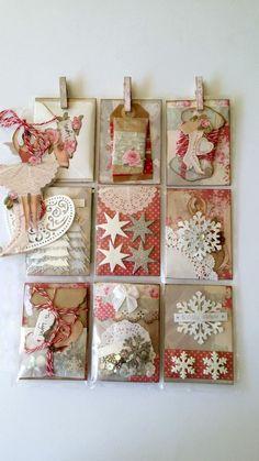 Pocket Letters ❤ TILDA Christmas themed PL.