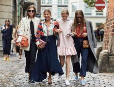 Copenhagen Fashion Week, spring-summer 2017: street style