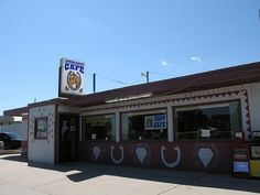 Diamond Horseshoe Café is located in Cheyenne, Wyoming and is so good! Visit this location when you visit Cheyenne!http://cheyennechamber.chambermaster.com/list/member/diamond-horseshoe-restaurant-cheyenne-8703.htm