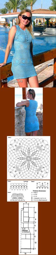 Платье со вставками из кружева