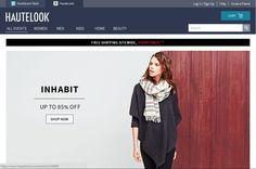 All in One Online Store https://www.hautelook.com/ POWERED BY FSD!;)