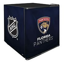 NHL Solid Door Refrigerated Beverage Center 1.8 cu. ft. capacity- Panthers