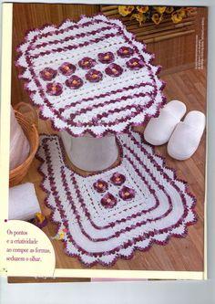 Jogo de tapetes 4 peças irresistivel