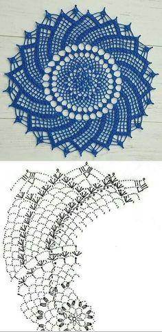 Crochet Dreamcatcher Pattern, Crochet Dragon Pattern, Free Crochet Doily Patterns, Crochet Doily Diagram, Crochet Flower Tutorial, Crochet Mandala, Crochet Doilies, Crochet Flowers, Thread Crochet