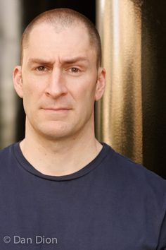 Portrait of comic Ben Bailey by photographer Dan Dion.