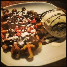 Chocolate Cafe The Feast Chocolate Waffles Ethnic Recipes