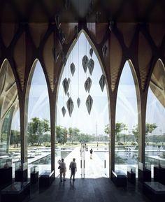 Sleuk Rith Institute / Zaha Hadid Architects