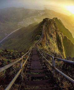 Stairway to Heaven, Oahu, Hawaii