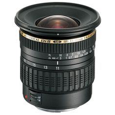Tamron 11-18 f/4.5-5.6 Di-II Ultra Wide Angle Lens for APS-C sensor camera. Available for Canon and Nikon mount.