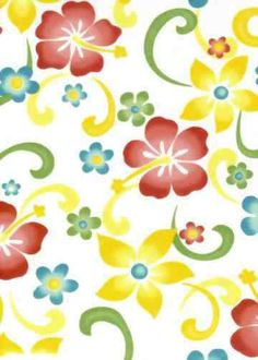 30kanaono Hibiscus, kids's - children's plumeria cotton poplin apparel fabric. Add Discount code: (Pin10) in comment box at check out for 10% off sub total at BarkclothHawaii.com