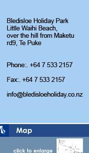 Bledisloe Holiday Park - Little Waihi Beach Te Puke - Camping NZ