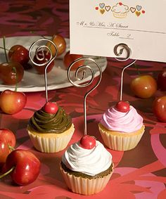 Cupcake Placecard Holders