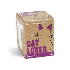 Grow Me - Cat Lover  Price : £3.99 http://www.eco-project.co.uk/Gift-Republic-Grow-Me-Lover/dp/B008ZYYOAK
