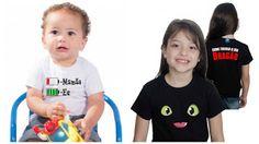 Camisetas da Hora - Camisetas Engraçadas, Estilosas e Inteligentes. Camiseta, Camisetas,: Dica de Presentes para o Dia Das Crianças!