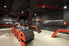 awesome Volume fit out - shortlist for retail design awards