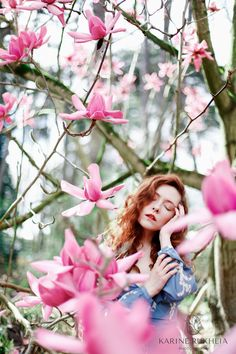 Cherry Blossom Flowers, Blossom Trees, Silk Flowers, Spring Photography, Paris Photography, Portrait Photography, Magnolia Trees, Magnolia Flower, Blooming Trees